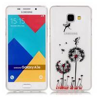 Nicis gélový obal pre mobil Samsung Galaxy A3 (2016) - púpavy