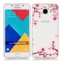 Nicis gélový obal pre mobil Samsung Galaxy A3 (2016) - kvitnúci strom