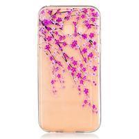 Softy gélový obal pre Samsung Galaxy A3 (2017) - kvitnúci strom