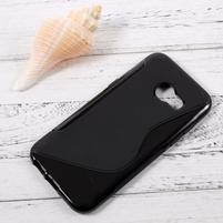 Sline gélový obal pre mobil Samsung Galaxy A3 (2017) - čierny