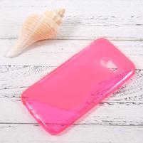 Sline gélový obal pre mobil Samsung Galaxy A3 (2017) - rose