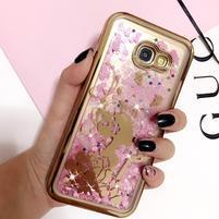 Sweety presýpací gélový obal na Samsung Galaxy A5 (2017) - dievča