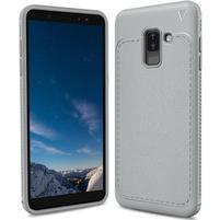 IVS odolný gélový obal na Samsung Galaxy A6+ (2018) - sivý