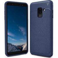 IVS odolný gélový obal na Samsung Galaxy A6+ (2018) - tmavomodrý