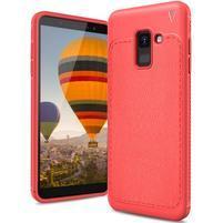 IVS odolný gélový obal na Samsung Galaxy A6 (2018) - červený