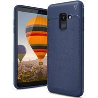 IVS odolný gélový obal na Samsung Galaxy A6 (2018) - tmavomodrý