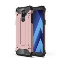 Armory odolný kryt na mobil Samsung Galaxy A6 Plus - rosegold