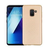 Carb gélový obal na Samsung Galaxy A8 Plus (2018) - zlatý