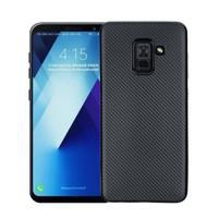 Carb gélový obal na Samsung Galaxy A8 Plus (2018) - čierny