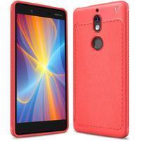 Carbo odolný gélový obal na Nokia 7 - červený