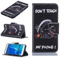 Bossi knižkové zapínacie puzdro na Samsung Galaxy J5 (2016) - monster