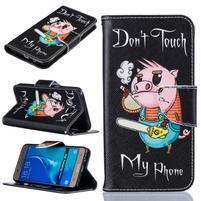 Patty peňaženkové puzdro na Samsung Galaxy J5 (2016) - prasiatko