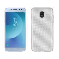Carb odolný gélový kryt na Samsung Galaxy J7 (2018) - strieborný