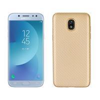 Carb odolný gélový kryt na Samsung Galaxy J7 (2018) - zlatý