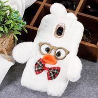 Duck silikónový kryt na Samsung Galaxy J6 - biely