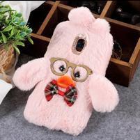 Duck silikónový kryt na Samsung Galaxy J6 - ružový
