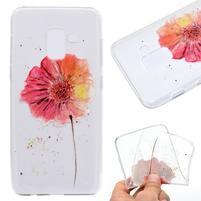 Printy gélový obal na mobil Samsung Galaxy J6 - červené kvety