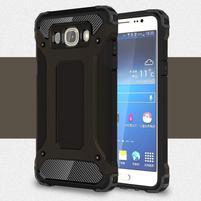 Armory odolný obal pre mobil Samsung Galaxy J7 (2016) - čierny
