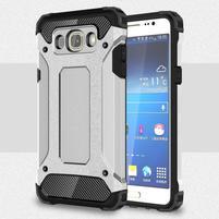 Armory odolný obal pre mobil Samsung Galaxy J7 (2016) - streiborný