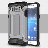 Armory odolný obal pre mobil Samsung Galaxy J7 (2016) - šedý