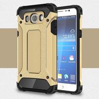 Armory odolný obal pre mobil Samsung Galaxy J7 (2016) - zlatý