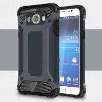 Armory odolný obal pre mobil Samsung Galaxy J7 (2016) - tmavomodrý