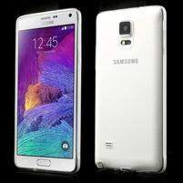 Transparentný gélový obal na Samsung Galaxy Note 4
