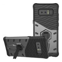 GT odolný obal s otočným stojanom na Samsung Galaxy Note 8 - sivý