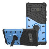 GT odolný obal s otočným stojanom na Samsung Galaxy Note 8 - modrý