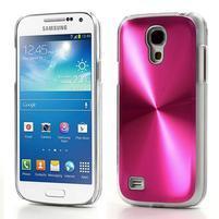 Metalický obal pre Samsung Galaxy S4 mini - rose