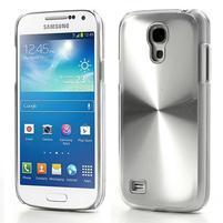 Metalický obal pre Samsung Galaxy S4 mini - strieborny