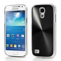 Metalický obal pre Samsung Galaxy S4 mini - čierný