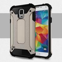 Armory odolný obal na Samsung Galaxy S5 - sivý