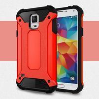Armory odolný obal na Samsung Galaxy S5 - červený