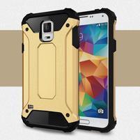Armory odolný obal na Samsung Galaxy S5 - zlatý