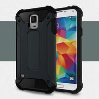 Armory odolný obal na Samsung Galaxy S5 - tmavomodrý