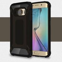 Armory odolný obal na Samsung Galaxy S6 Edge - čierny