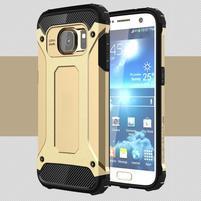 Armory odolný obal pre mobil Samsung Galaxy S7 - zlatý