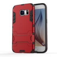Defender gélový obal pre mobil Samsung Galaxy S7 - červený