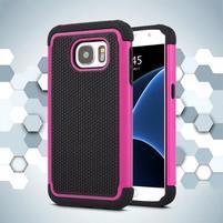 Grain odolný obal pre Samsung Galaxy S7 - rose