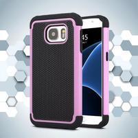 Grain odolný obal pre Samsung Galaxy S7 - ružový