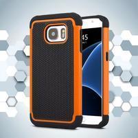 Grain odolný obal pre Samsung Galaxy S7 - oranžový