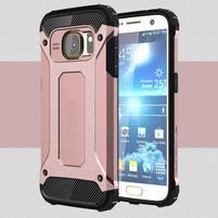 Armory odolný obal pre mobil Samsung Galaxy S7 - ružovozlatý