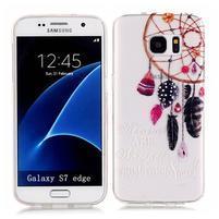 Shelly transparentný gélový obal na Samsung Galaxy S7 Edge - lapač snov