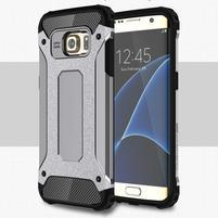 Armory odolný obal na Samsung Galaxy S7 Edge - sivý