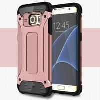 Armory odolný obal na Samsung Galaxy S7 Edge - ružovozlatý