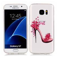 Shelly transparentný gélový obal na Samsung Galaxy S7 - črievička