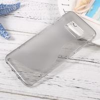 SLine gélový obal pro telefon Samsung Galaxy S8 - šedý