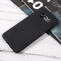 Finger matný gélový obal pre mobil Samsung Galaxy S8 - čierný