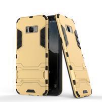 Guard odolný obal pre mobil Samsung Galaxy S8 - zlatý